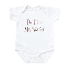 The Future Mrs. Warrner Onesie