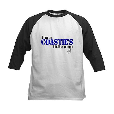 Coastie's Little Man Kids Baseball Jersey