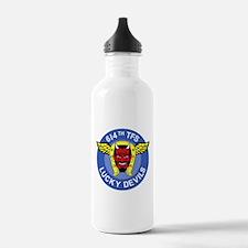 614th_tfs_LUCKY_DEVILS Water Bottle