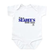 Seabee's Little Man Infant Bodysuit
