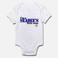 Seabee's Little Man Infant Bodysuit