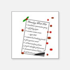 Genealogy Wish List Sticker