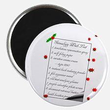 Genealogy Wish List Magnets