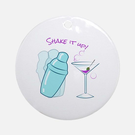 Shake it Up Ornament (Round)