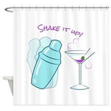 Shake it Up Shower Curtain