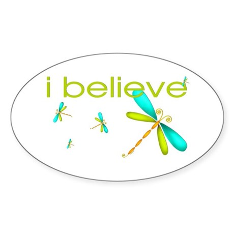 Dragonfly - I believe Oval Sticker