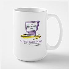God You've got mail Large Mug