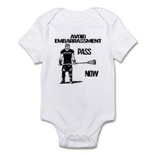 Lacrosse Defense Pass Infant Bodysuit