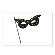 Hand Held Mask Postcards (Package of 8)
