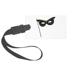 Hand Held Mask Luggage Tag