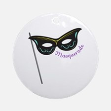 Masquerade Ornament (Round)
