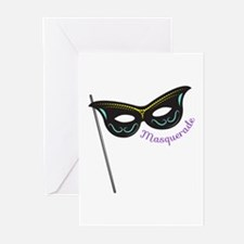 Masquerade Greeting Cards