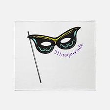 Masquerade Throw Blanket