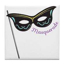 Masquerade Tile Coaster