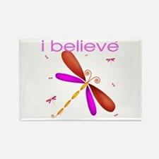 Beautiful dragonflies Rectangle Magnet