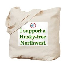 Husky Free NW Tote Bag