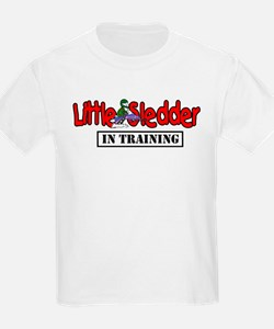 Little Sledder in Training T-Shirt