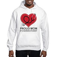 Proud Mom Nursing Student Hoodie