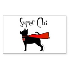 Super Chi Rectangle Decal