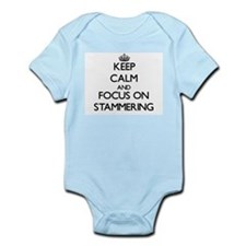 Keep Calm and focus on Stammering Body Suit