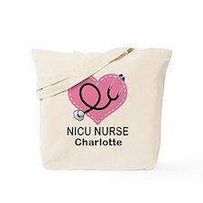 Personalized NICU Nurse Tote Bag