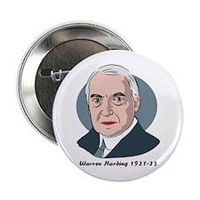 Warren Harding - Button Badge