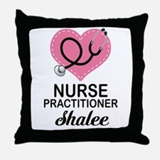 Nurse Practitioner personalized Throw Pillow