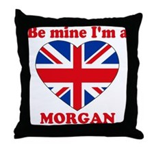 Morgan, Valentine's Day Throw Pillow