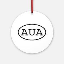 AUA Oval Ornament (Round)