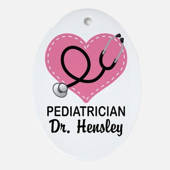 Pediatrician gift personalized Ornament (Oval)