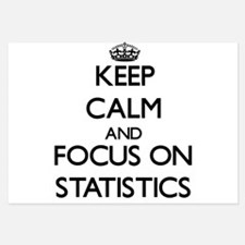 Keep Calm and focus on Statistics Invitations