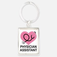 Physician Assistant gift Keychains