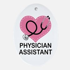 Physician Assistant gift Ornament (Oval)
