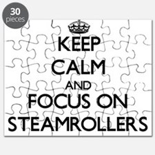 Keep Calm and focus on Steamrollers Puzzle