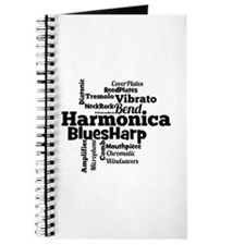 Harmonica Word Cloud Journal
