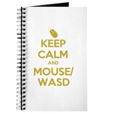 Keep Calm and Mouse WASD Journal