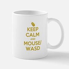 Keep Calm and Mouse WASD Mug