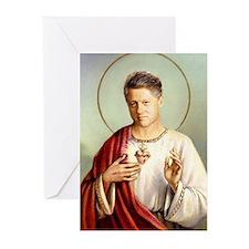 Saint Clinton holiday cards (10 Pk)