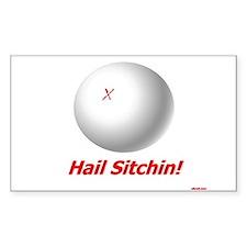 Hail Sitchin Sticker (Rect.)