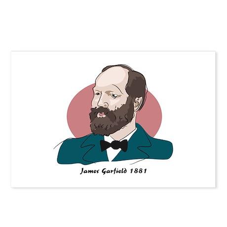 James Garfield - Postcards (Package of 8)