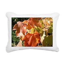 Fall leaves Rectangular Canvas Pillow