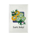 Sushi Baby Rectangle Magnet (10 pack)
