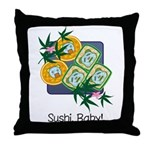 Sushi Baby Throw Pillow