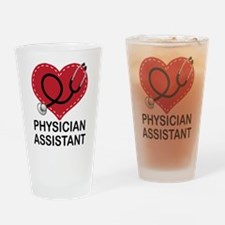 Physician Assistant Drinking Glass
