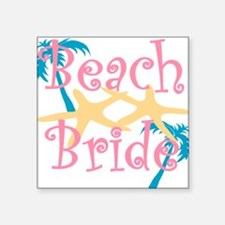 beachbride2pink.png Sticker