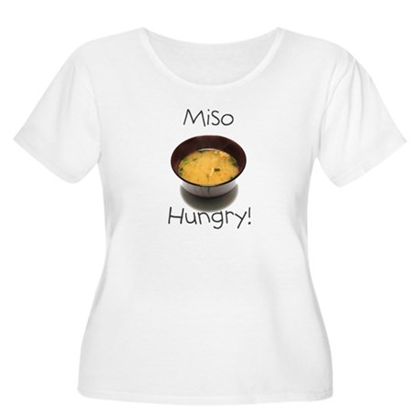 Miso Hungry Women's Plus Size Scoop Neck T-Shirt
