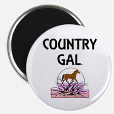 Country Gal Magnet