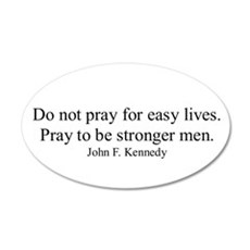 JOHN F. KENNEDY QUOTE Wall Decal