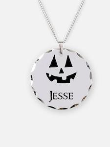 Jesse Halloween Pumpkin face Necklace