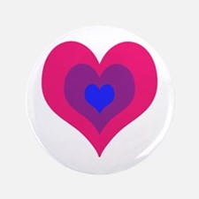 """Bisexual Hearts Stacking 3.5"""" Button (100 pack)"""